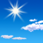 This Afternoon: Sunny, with a high near 88. Light east wind.