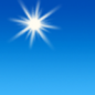 This Afternoon: Sunny, with a high near 72. Northeast wind 13 to 15 mph.